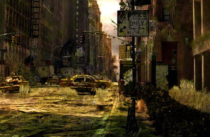 How to Make a Dark, Post-Apocalyptic City Illustration