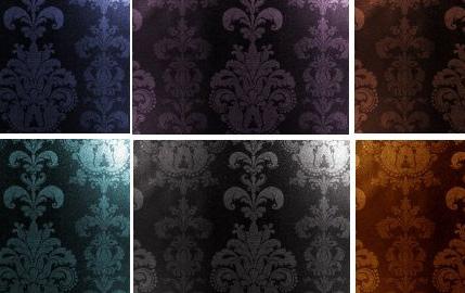 Ornate Textures Dark Pk