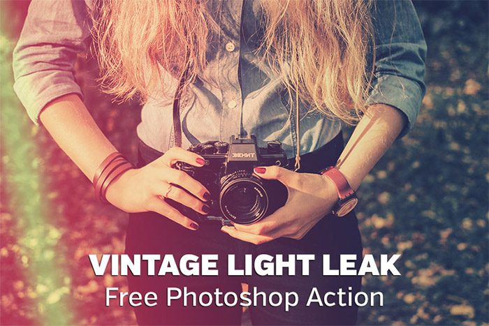 Vintage Light Leak Action
