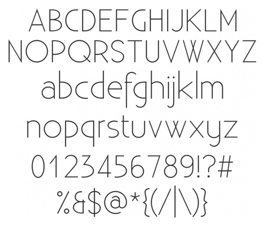 20 Super Clean Fonts Perfect for Minimal Style Design