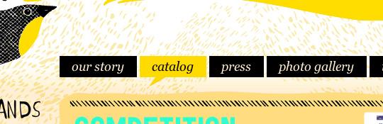 website navigation
