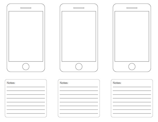 10 Free Printable Web Design Wireframing Templates - Web Design Ledger