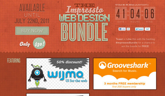 The Impressto Web Design Bundle