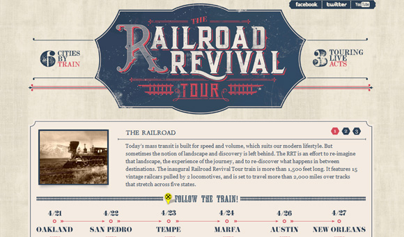 Railroad Revival Tour