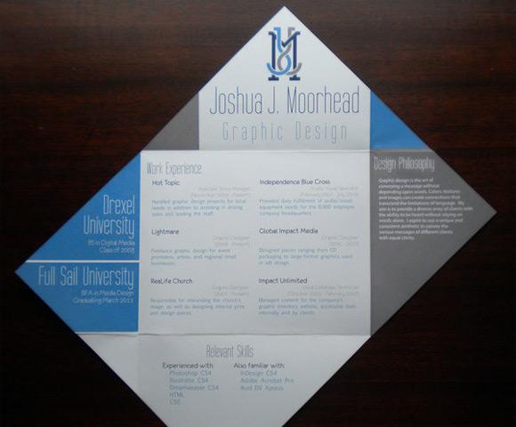Joshua Moorhead Print Resume