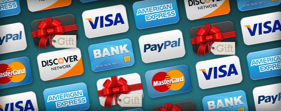 Credit Cards Icon Set