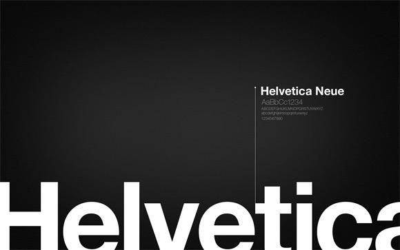 Helvetica Wallpaper