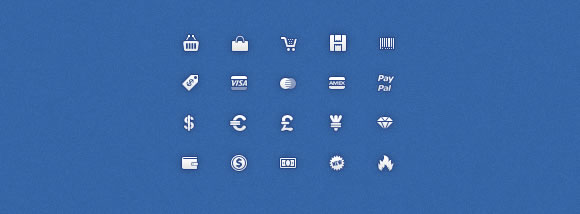 Mini Shopping Icons
