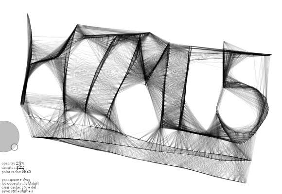 html5 velocity sketch