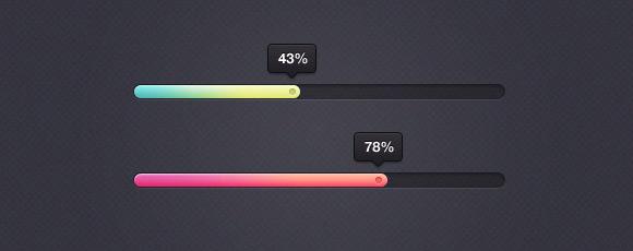 Eye Candy Percentage Bar