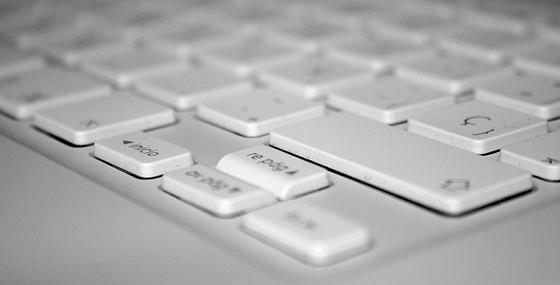 Macbook Keyboard - web and digital keys