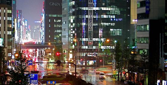 Tokyo Night Traffic