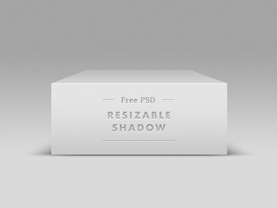 clean white vector shadow PSD