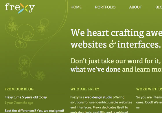 Frexy design blog