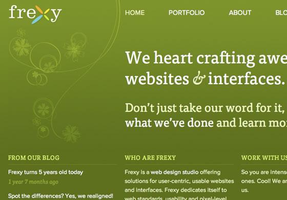 Frexy design blog