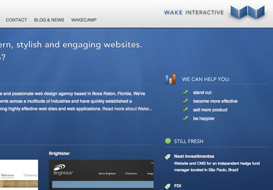 Wake Interactive design agency