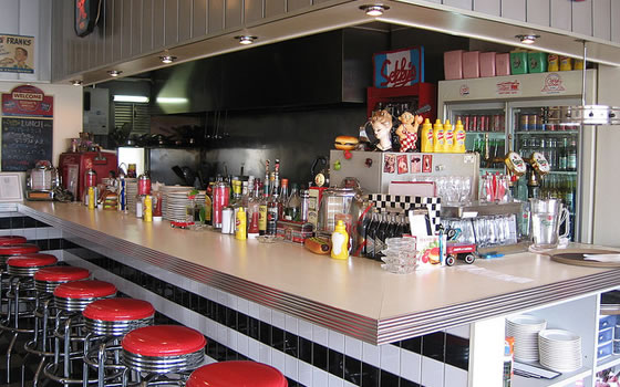 Seky's retro 50s breakfast diner