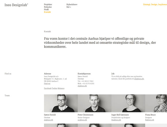 Inspiring Contact Pages