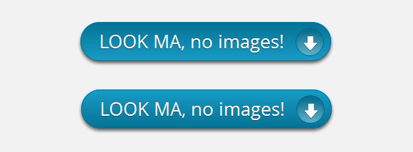 Tutorial: CTA button without images using CSS3 and Entypo