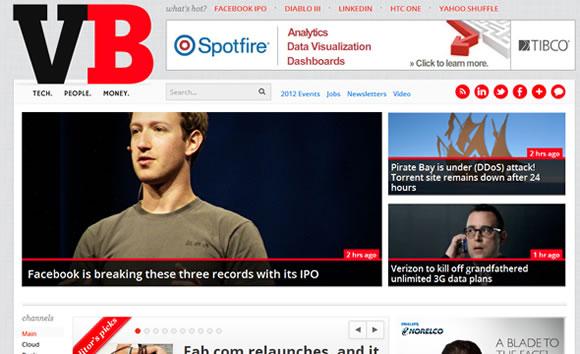 VentureBeat investments capital fundraising magazine