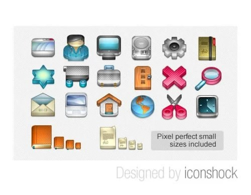 3D Glossy Icons