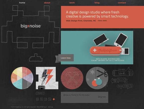 colorfulsites01 21 Ejemplos de uso de colores distintos en diseño web