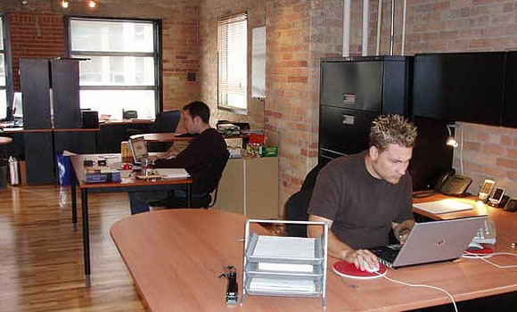 Startup office web design team - featured image