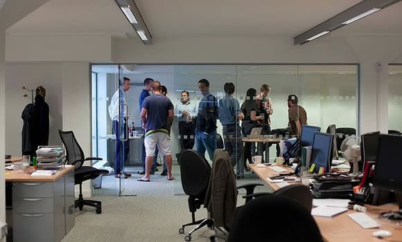 London, UK web design meeting space