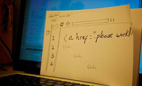 a href links html css dreamweaver