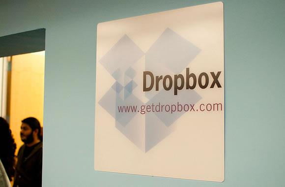 Dropbox Office Headquarters - logo branding