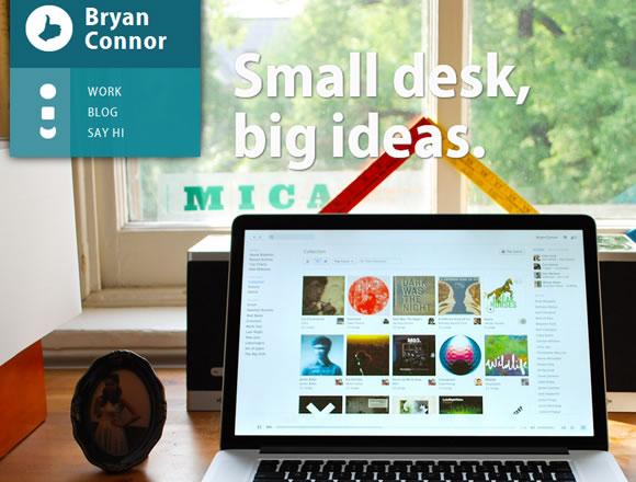Bryan Connor portfolio website