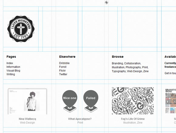 Thomas Bates website design portfolio