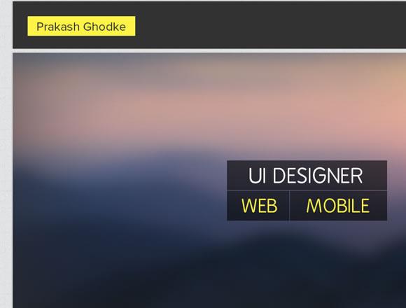 Website UI designer freelance portfolio