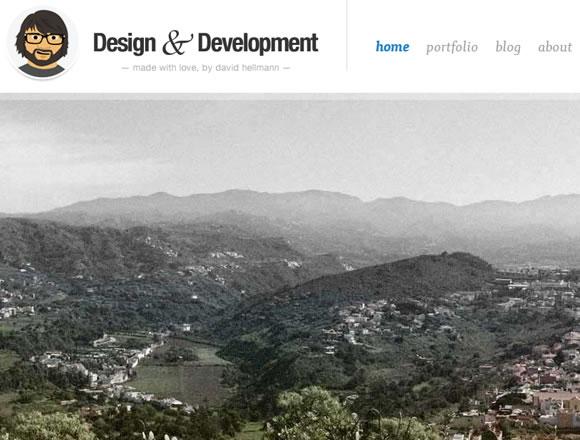 David Hellmann freelance designer portfolio