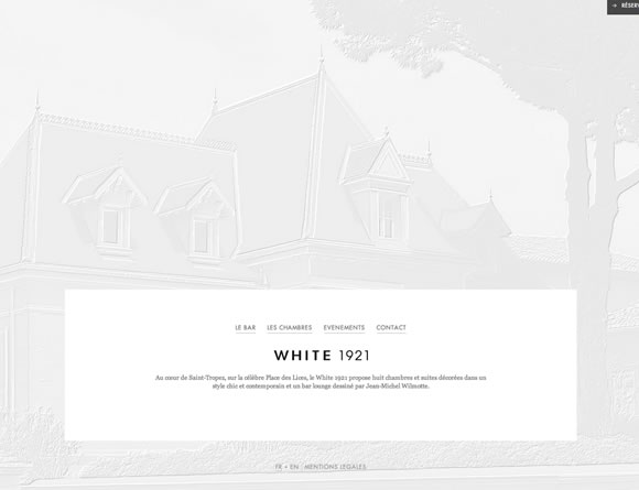 White Usage in Web Design