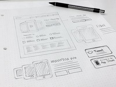 Inspiring Wireframes Sketches