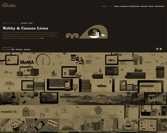 21 Inspiring Design Studios/Portfolios