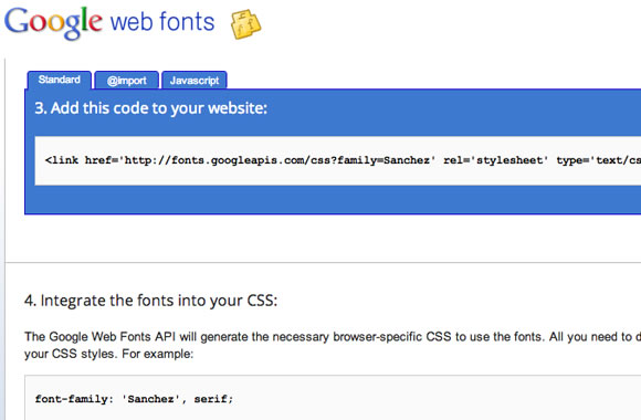 Google webfonts website layout design CSS3 freebie webapp