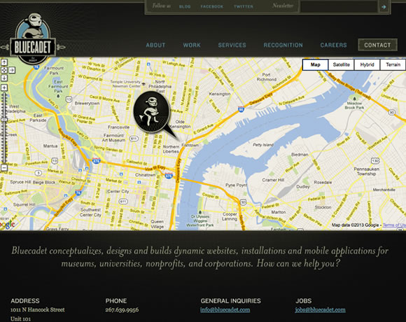 16 Inspiring Examples of Interactive Maps in Web Design