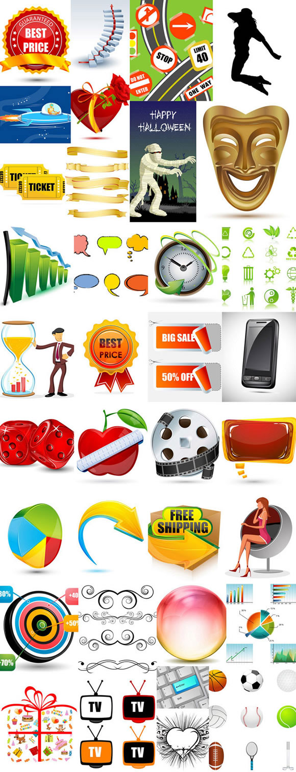 DealPixel: Massive Vector Bundle – 4400 Vectors