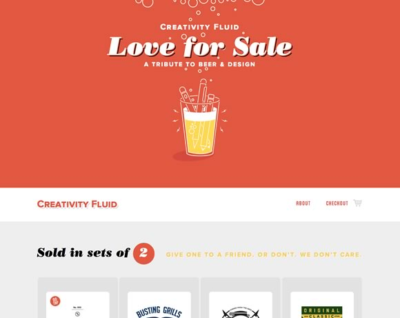 21 Examples of Beautiful Color Use in Web Design