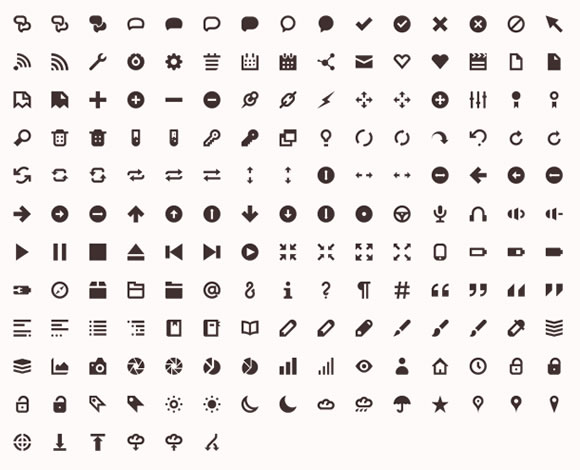 10 Super Useful Free Icon Font Sets