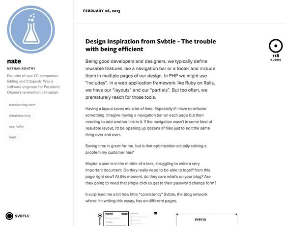 Svbtle, a new kind of magazine