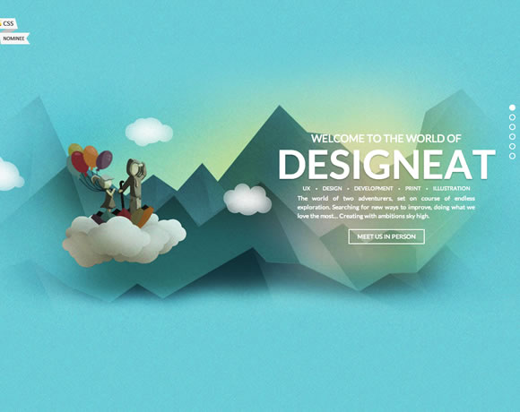 13 Colorful & Inspiring Websites