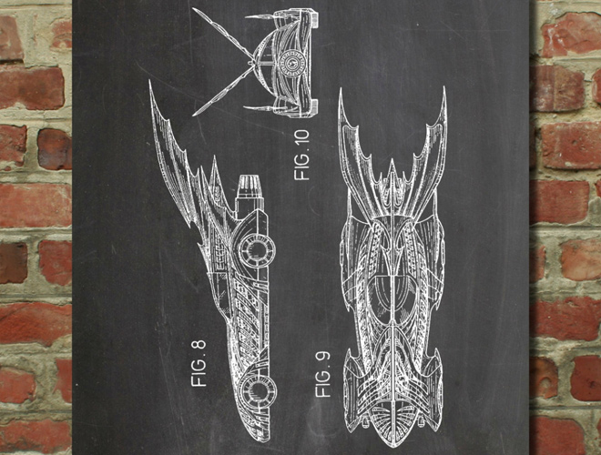 batman batmobile wall art poster