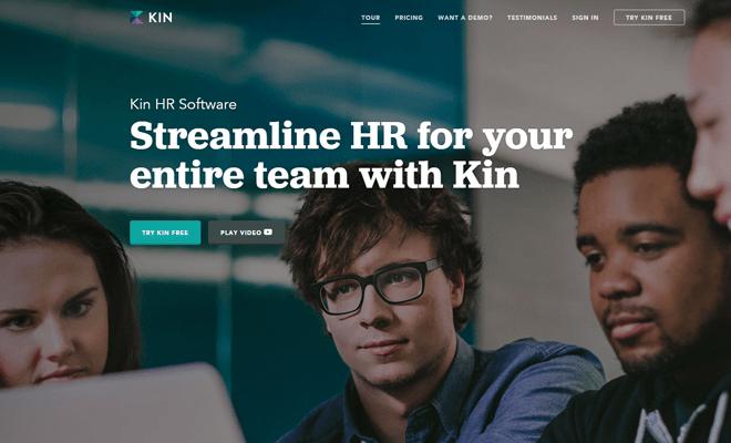kin hr kinhr homepage background image navigation