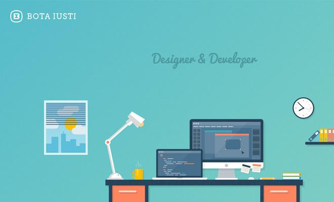 bota iusti background vector artwork website