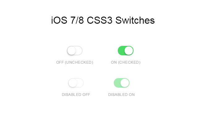 css3 switches ios7 ios8 open source code