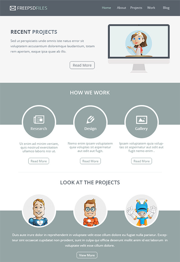 15+ Awesome Free Email Templates to Download
