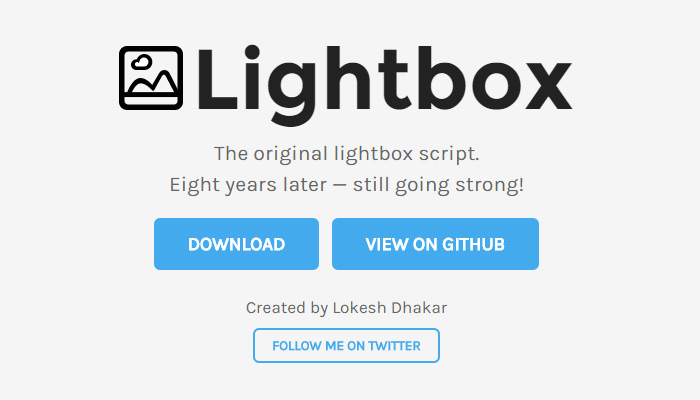 lightbox2 open source plugin